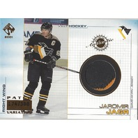 2000-01 Private Stock Game Gear Patches #89 Jaromir Jagr /388