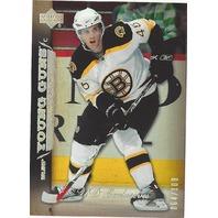 David Krejci 2007-08 Upper Deck S1 Young Guns Exclusives /100 UD YG 07/08 Bruins