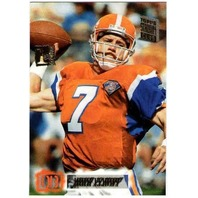 JOHN ELWAY 1995 Topps Stadium Club 1st Day Issue First Parallel Card