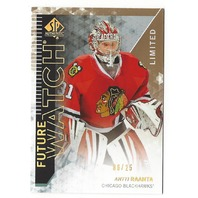 Antti Raanta 2013-14 SP Authentic Future Watch Limited /25 UD SPA Blackhawks 244