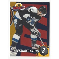Alexander Svitov 2001-02 Be A Player BAP #3 Draft Redemption /100 Ak Bars Kazan