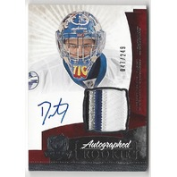 2010-11 The Cup #147 Dustin Tokarski Jersey Autograph Rookie RC /249