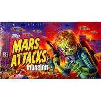 2013 Topps Mars Attacks Invasion Trading Cards Box