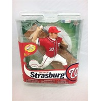 Stephen Strasburg Red Jersey Variant McFarlane Series 31 Washington Nationals
