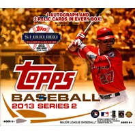 2013 Topps Series 2 Baseball Jumbo HTA Hobby 6 Box Case (Sealed)