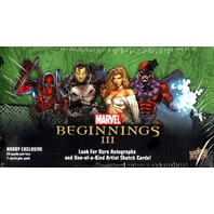 2012 Upper Deck Marvel Beginnings Series 3 III Trading Cards Hobby Exclusive Box