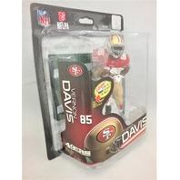 2013 Vernon Davis McFarlane's Sportspicks Debut Figure SPD NFL32 NFLPA San Francisco 49ers