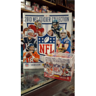 2013 Panini NFL Football 50 Pack Sticker Box Collection w/72 Page Album