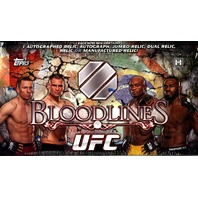 2013 Topps UFC Bloodlines Hobby Box