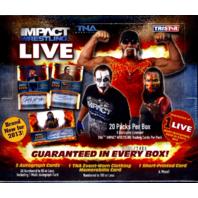 2013 Tristar TNA Impact Live Wrestling Hobby Box (Sealed) 2013/2400