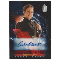Catrin Stewart as Jenny Flint 2016 Doctor Who Timeless Autographed Red Card /10