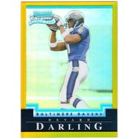 DEVARD DARLING 2004 Bowman Chrome Gold Refractor Rookie 1/50 Parallel Card