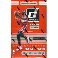 2014/15 Panini Donruss Basketball Hobby Box (Sealed)