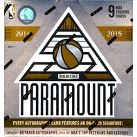 2014/15 Panini Paramount Basketball Hobby Box (Sealed)