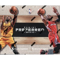 2014/15 Panini Preferred Basketball Hobby Box