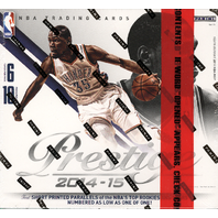 2014/15 Panini Prestige Plus Basketball Box (Sealed)