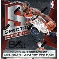 2014/15 Panini Spectra Basketball Hobby Box (Sealed)