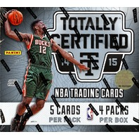 2014/15 Panini Totally Certified Basketball Hobby Box (Sealed)