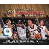 2014/15 Upper Deck March Madness Hobby Box (Sealed)