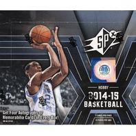 2014/15 Upper Deck SPx Basketball Hobby Box (Sealed)