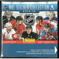 2014/15 Panini NHL 50 Pack Sticker Box Collection w/72 Page Album