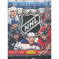 2014/15 PANINI NHL STICKER COLLECTION - 72 PAGE ALBUM BOOK