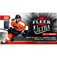 2014/15 Fleer Ultra Hockey Hobby Box (Sealed) 14/15