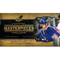 2014/15 Upper Deck Masterpieces Hockey Hobby Box (Sealed) 14/15