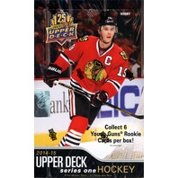 2014/15 Upper Deck Series 1 Hockey Hobby Box (Sealed)