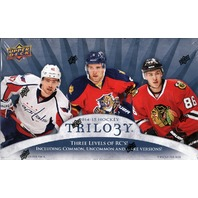 2014/15 Upper Deck Trilogy Hockey Hobby Box (Sealed)
