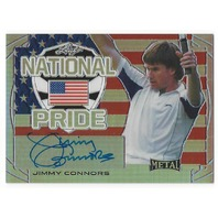 Jimmy Connors 2016 Leaf Metal Tennis National Pride United States Autograph
