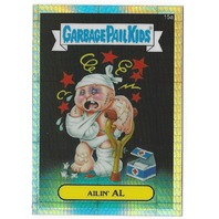 AILIN' AL Garbage Pail Kids Chrome Series Refractor #15b