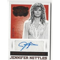 Jennifer Nettles 2015 Country Music Signatures Autograph #S-JN /344