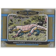 Magalania 2016 Origin of Species Goodwin Champions Patch Card#287