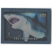 Cretoxyrhina 2015 Dinosaurs #POS-14 Predators of The Sea Card