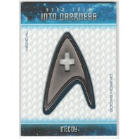 McCoy 2014 Star Trek Movies Uniform Badges #B22 (Medical Division Badge)