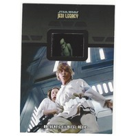 Luke Skywalker Princess Leia 2013 Star Wars Legacy #FR-7 Storm Trooper Film Cell