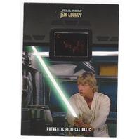 Luke Skywalker and Darth Vader 2013 Star Wars Legacy #FR-2  Film Cell