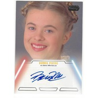 Bonnie Piesse as Beru Whitesun Star Wars Jedi Legacy Autograph Card #6