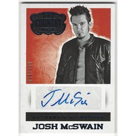 Josh McSwain 2014 Panini Country Music Authentic Signatures Blue  #S-JMC /199