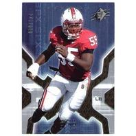MICHAEL OKWO 2007 Upper Deck SPX ROOKIE Card Chicago Bears RC 745/899