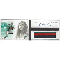 Clyde Gates Miami Dolphins 2012 Panini Playbook Rookie Autograph Patch RC /49