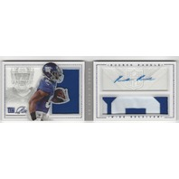 Rueben Randle New York Giants 2012 Panini Playbook Autograph Patch RC /149