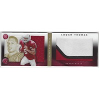 Logan Thomas San Francisco 49ers 2014 Panini Playbook Autograph Patch /25