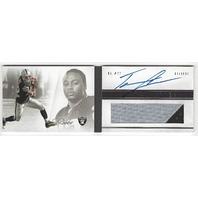 Tiawan Jones Oakland Raiders 2012 Panini Playbook Rookie Autograph Patch RC /399