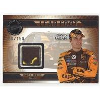 David Ragan NASCAR VIP  2009 PressPass Lead Foot Race Used Shoe Relic 150/150
