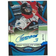 "Danny ""Chocolate"" Myers 2016 Certified Racing Autograph #CM2 /49"