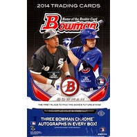 2014 Bowman Baseball Jumbo (HTA) Box (Sealed) (12 Packs/32 Cards)