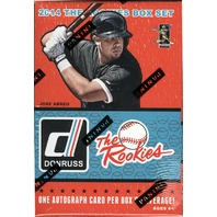 2014 Donruss The Rookies Baseball Sealed Factory Set Enrique Kike Hernandez Auto