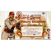 2014 Topps Allen & Ginter Baseball Hobby Box (Sealed)